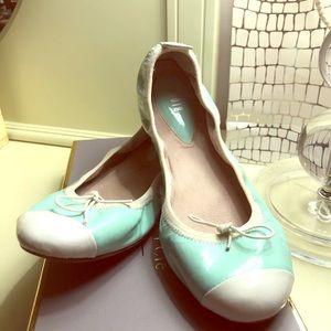 BLOCH Ballerina Leather Flats 7.5 Luxury
